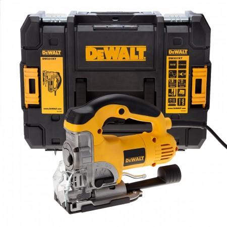 DeWalt DW331K 701W stikksag med topphåndtak