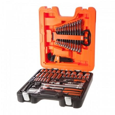 """Bahco S103 103-delers metric pipe og mekanisk sett 1/4 og 1/2"""" størrelse"""