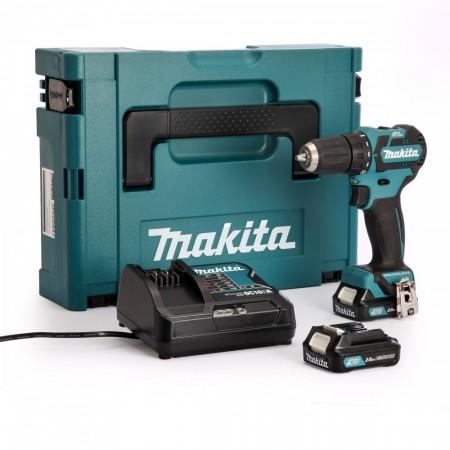 Makita DF332DSAJ CXT 10.8V drillsett (2 x 2,0 Ah batterier)