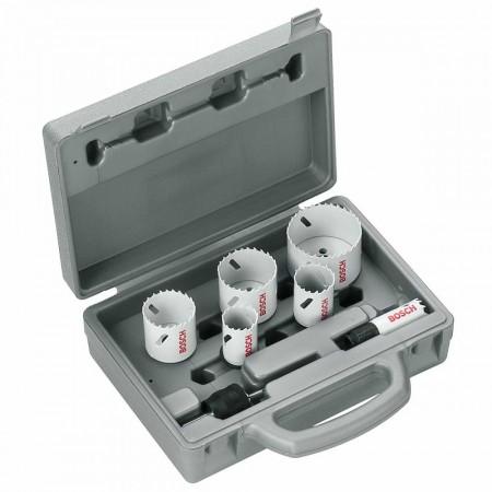 Bosch 2608584670  9-delers hullsagsett for metall og trevirke