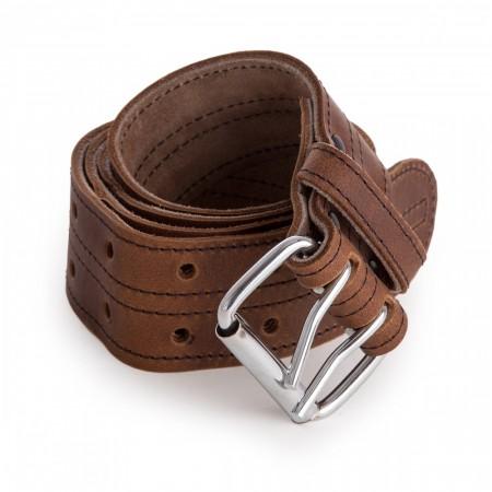 """Leather Craft LC609 Oiltan lær belte med 2"""" bredde"""