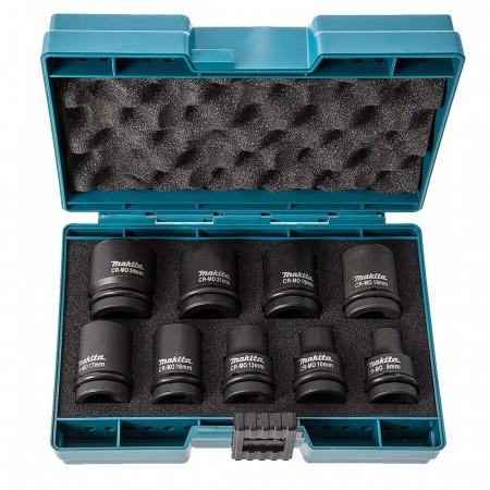 """Makita D-41517 9-delers kraftpipe sett med 1/2"""" innfestning"""