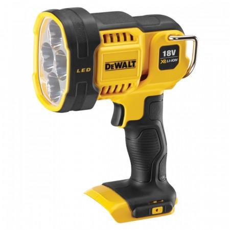 Dewalt DCL043 18V XR batteridrevet LED Spotlight (kun kropp)