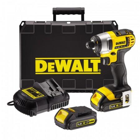Sjekk prisen! DeWalt DCF835C2 Slagtrekker sett 14.4V Li-Ion XR komapkt, 1,5V