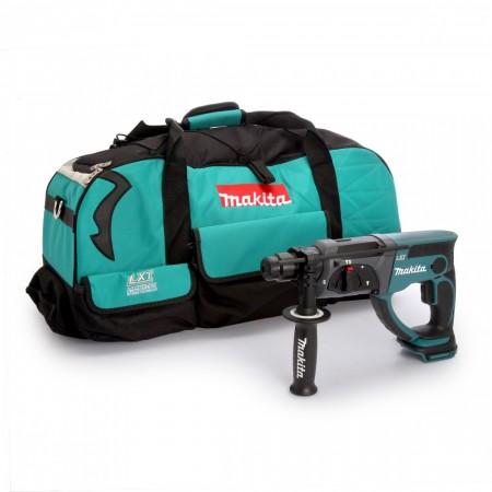 Makita DHR202Z SDS + borhammer Drill (kun kropp) + LXT600 verktøybag