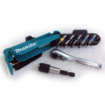 Makita P-79142 12-delers micro skrallesett