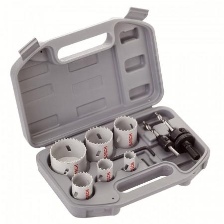 Bosch 2608580803 9-delers rørlegger hullsagsett m/etui