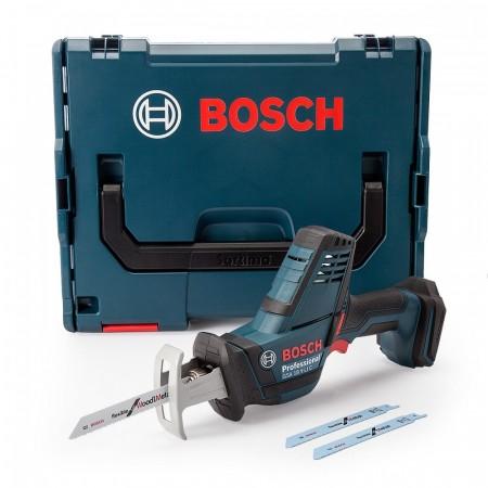 Sjekk prisen! Bosch GSA18VLICNCG kompakt bajonettsag i L-Boxx (kun kropp)