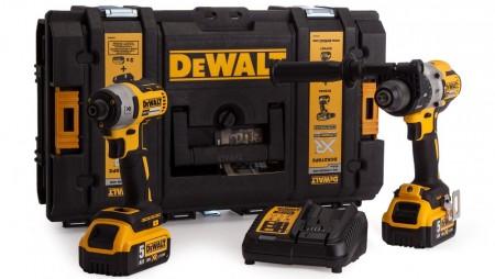 Dewalt DCK276P2 18V børsteløs combi drill og slagtrekker (2 x 5,0 Ah batterier)