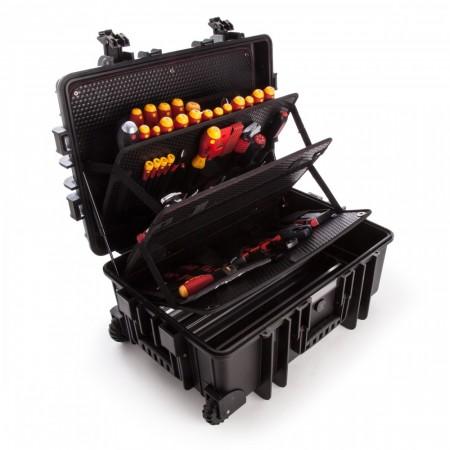 Wiha 40524 XXL verktøysett med 115-deler spesielt designet for elektrikere