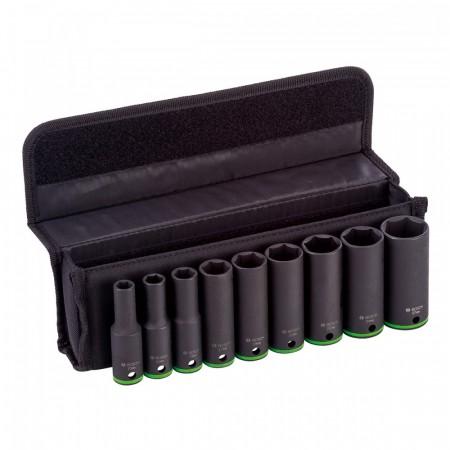"""Bosch 2608551101 9-delers 1/2"""" pipesett"""