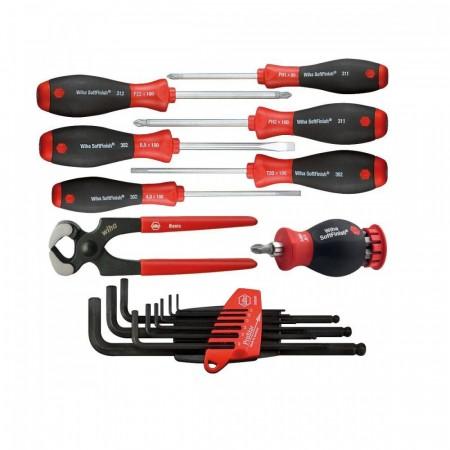 Bosch Wiha proff verktøy sett med 17 deler