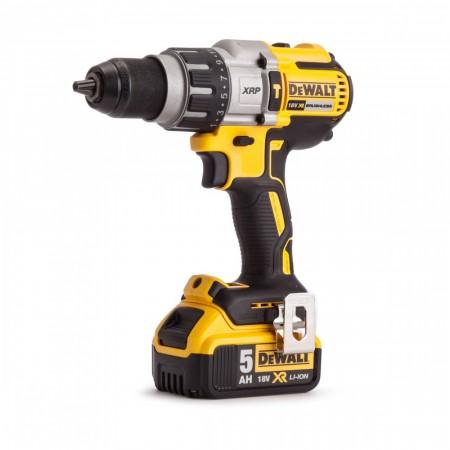 Dewalt DCD996P2 18V 3-hastighet børsteløs combi drillsett (2 x 5Ah batt)