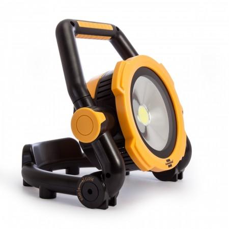 Brennenstuhl 1171423 Mobil oppladbar LED lampe 20W med magneter