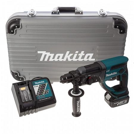 Sjekk prisen! Makita DHR202RF 18V batteridrevet SDS+ borhammer (1 x 3Ah batteri)