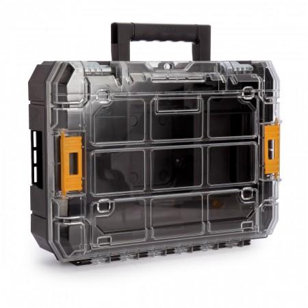 Dewalt DWST1-71194-SP system koffert med gjennomsiktig glass