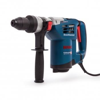Sjekk prisen! Bosch GBH4-32DFR SDS+ Borhammer inkl selvspennende chuck + mye tilbehør