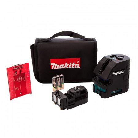 NYTT! Makita SK104Z kryss laser i bæreveske