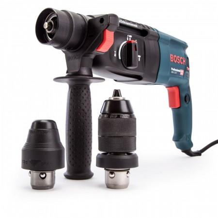 Bosch GBH 2-26 F Profesjonell SDS+ borhammer 3-modus og med ekstra chuck
