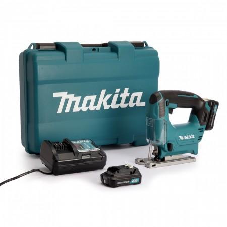 Makita JV101DWAE CXT 10.8V batteridrevet stikksag sett (2 x 2,0 Ah batterier)