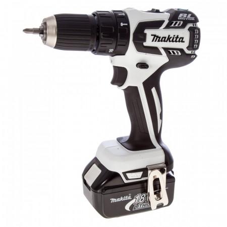 Sjekk prisen! Makita DHP459Z 18V b�rstel�s drill(hvit)