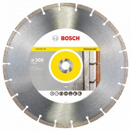 Bosch 2608602796 Diamant blad universal 300 x 20mm