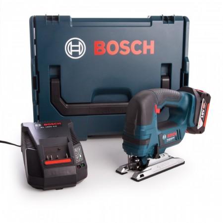Bosch GST18V-LI B 18V batteridrevet stikksag sett (1 x 4,0 Ah batteri)