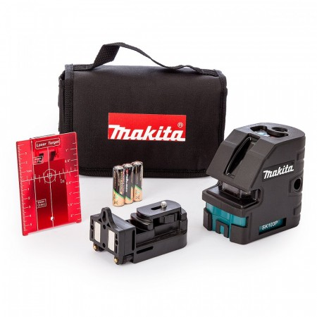 NYTT! Makita SK103PZ 4 punkts kryss laser