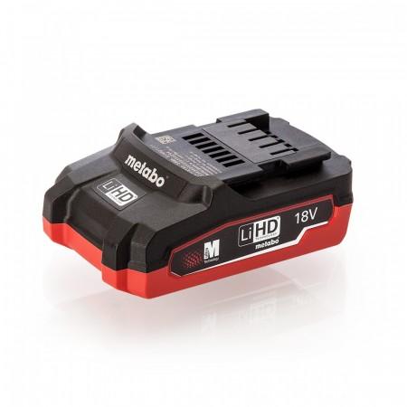Metabo 18V LiHD 3.1Ah batteri