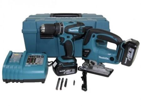Makita DK1893 18V drillsett inkludert stikksag