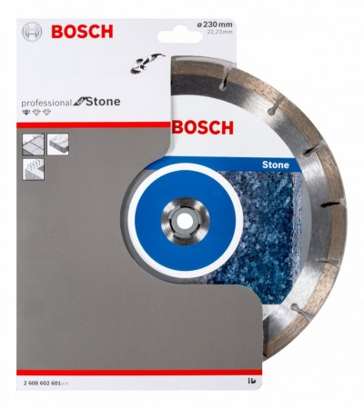 Bosch 2608602601 Diamant Professional kappeskive for stein 230 x 22.23mm