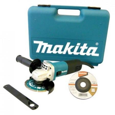 Sjekk prisen! Makita 9554NBKD 115mm Vinkelsliper