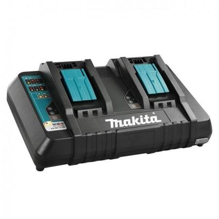 Makita DC18RD 14,4V-18V dobbel port hurtiglader