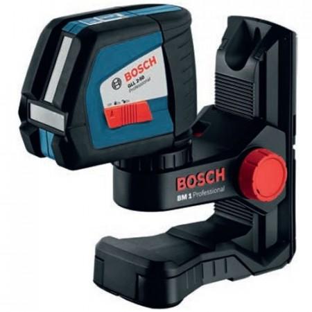 Sjekk prisen! Bosch Linjelaser GLL 2-50 Professional + Stativ + L-boxx koffert
