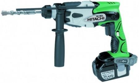 KUPP PRIS! Hitachi DH18DL/JL SDS+ Hammerdrillsett (2x3,0Ah batt)