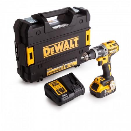 Dewalt DCD796P1 18V børsteløs combi drillsett (1 x 5Ah batteri)