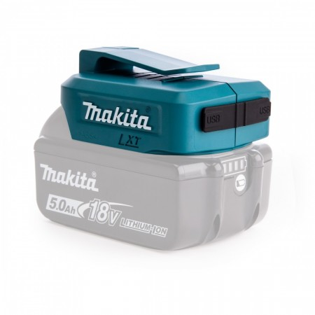 Makita ADP05 Li-ion USB Adapter fra 14,4V - 18V batteri
