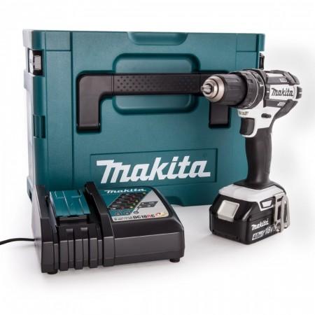 Makita DHP482RM1J 18V Combi drillsett (1 x 4.0Ah batt)