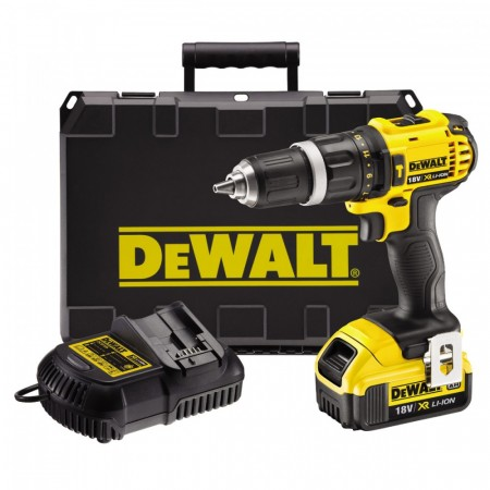 Dewalt DCD785M1 18V drillsett (1 x 4Ah)