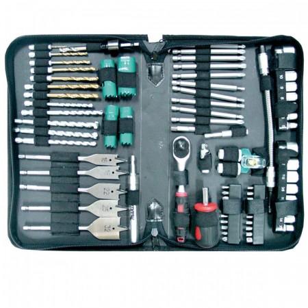 Makita P-52065 79-delers sett drill og skrutrekker bitsett