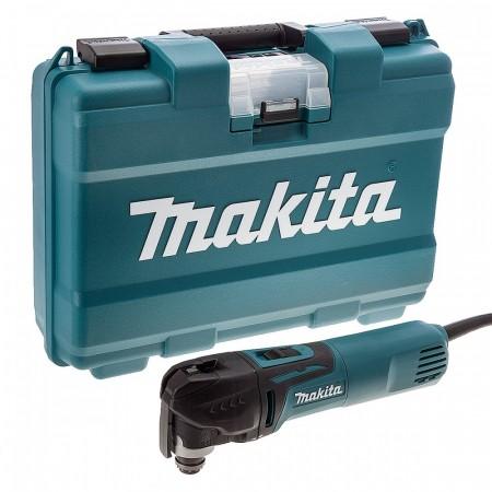 Makita TM3010CK 320W Oscillerende multiverktøy med verktøyfritt skifte av tilbehør