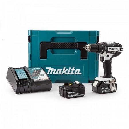 Makita DHP482RFWJ 18V Combi drillsett (2 x 3.0Ah batterier)