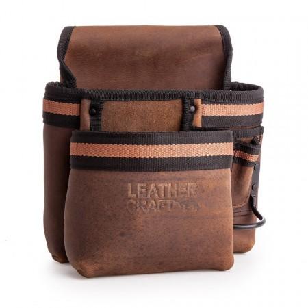 Leather Craft LC503 med 2 lommer og hammer holder
