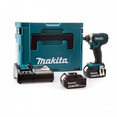 Makita DTD152RMJ 18V Slagtrekker sett Li-ion (2 x 4.0Ah batterier)