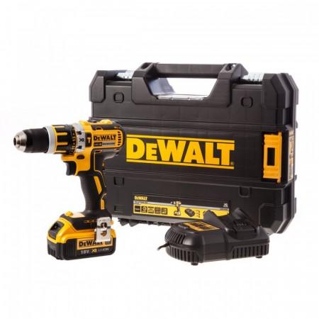 Dewalt DCD795M1 18V XR børsteløs combi drillsett (1 x 4Ah batt)