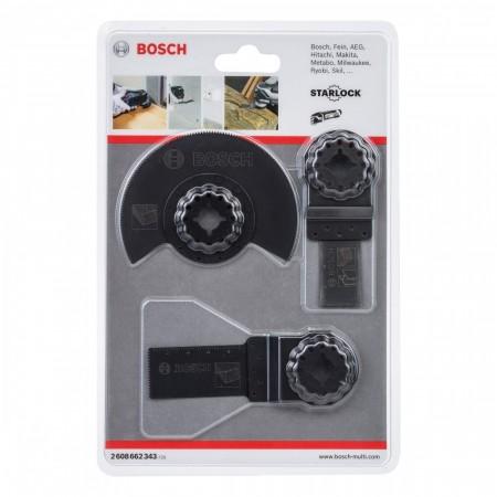 Bosch 2608662343 3-delers multikutter verktøy for tre og metall (Starlock innfestning)