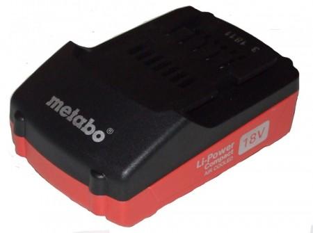 Metabo 18V Lithium slide batteri