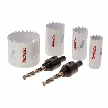 Makita D-34861 4-delers Bi-Metal hullsag sett (20-51mm)