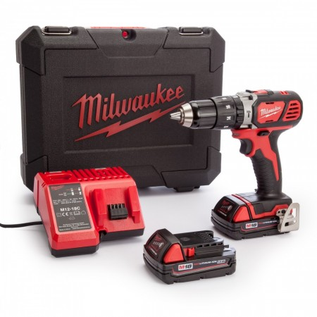 Milwaukee M18 SET1C-152C 18V Combi drillsett  (2 x 1.5Ah batterier)