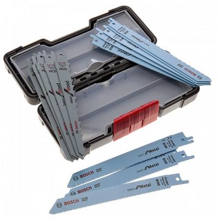 Bosch bajonettsagblad x 15 for Tre / Metall i praktisk etui